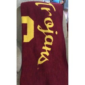 USC TROJANS COLLEGIATE BLANKET THROW BIEDERLACK